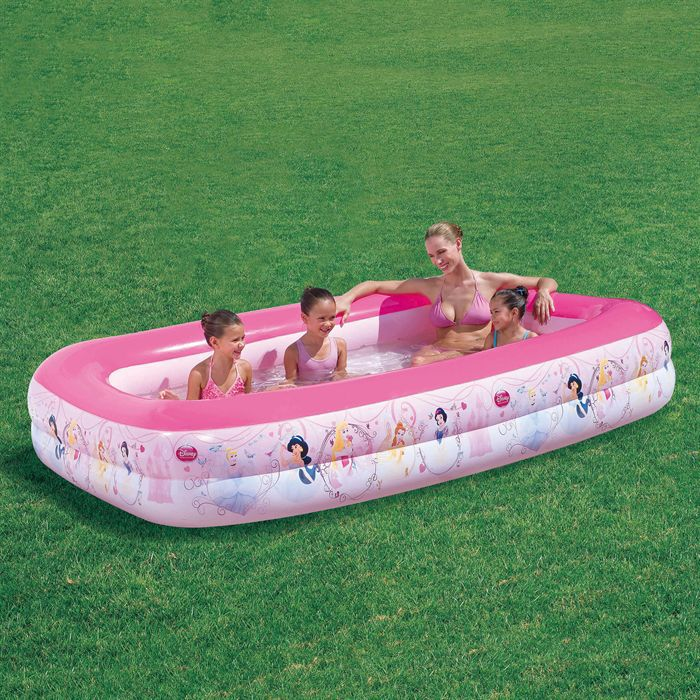 Piscine princesse gonflable 269x175x51 achat vente for Piscine gonflable bestway