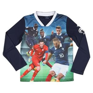 MAILLOT DE FOOTBALL FFF T-shirt Football Equipe de France Enfant Garço