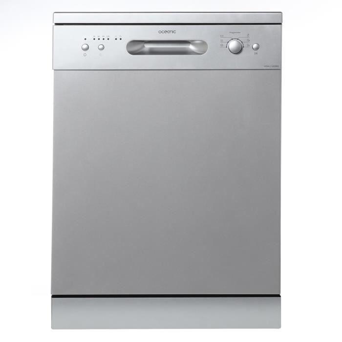 LAVE-VAISSELLE OCEANIC LV12DD49S - Lave-vaisselle posable - 12 co