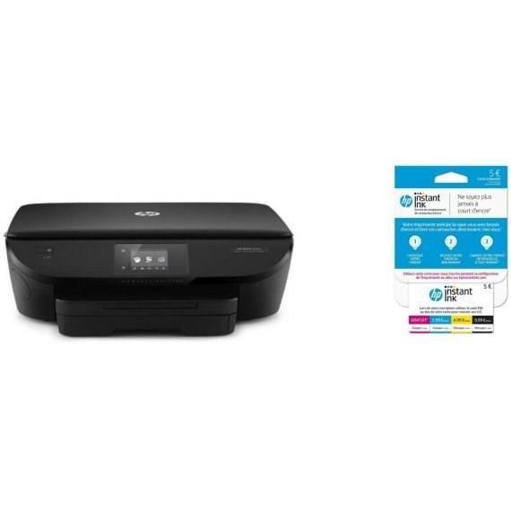 HP imprimante Envy 5642 + carte Instant Ink crédit de 5€ sur votre compte