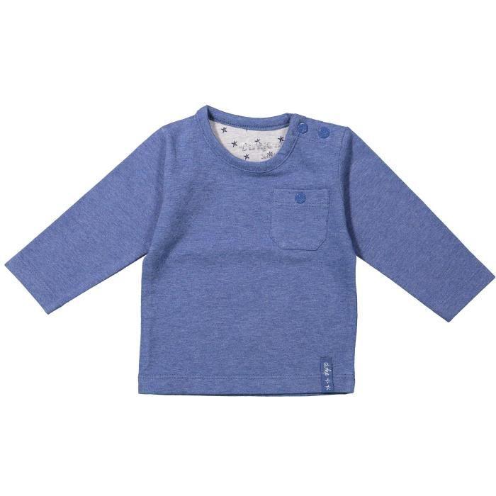 DIRKJE T-shirt Manches Longues Bleu Bébé Garçon
