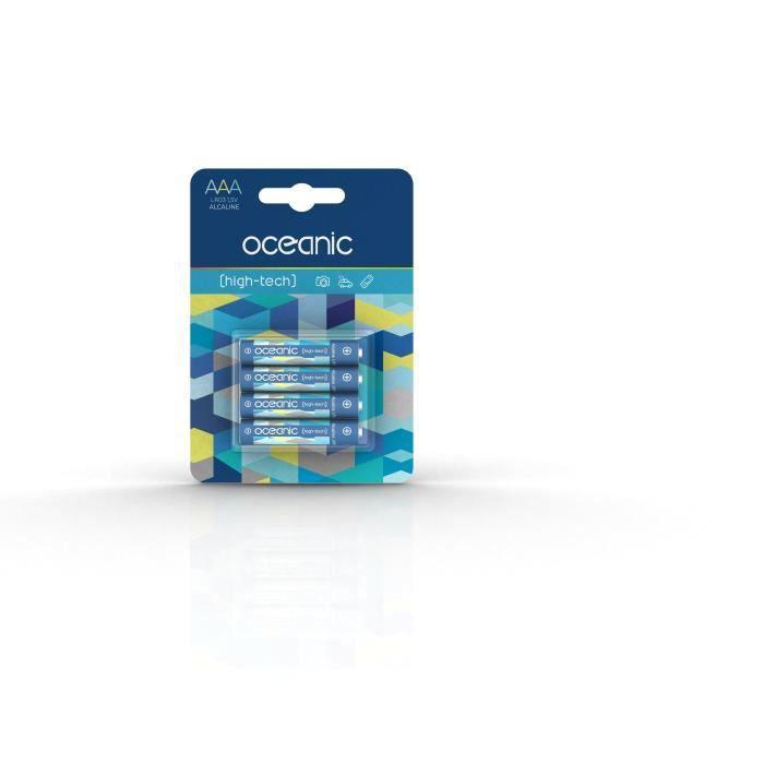Oceanic 4 piles lr03aaa 1.5v high tech