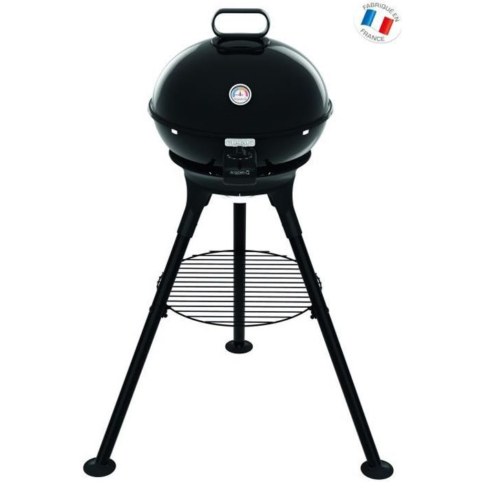 TEFAL YY2944FB Barbecue Aromati'Q pieds + grille fonte + accessoires