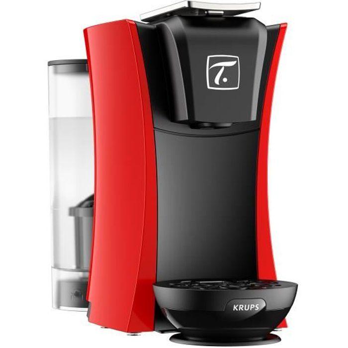 KRUPS YY4124FD Machine à thé Master Spécial.T - Rouge