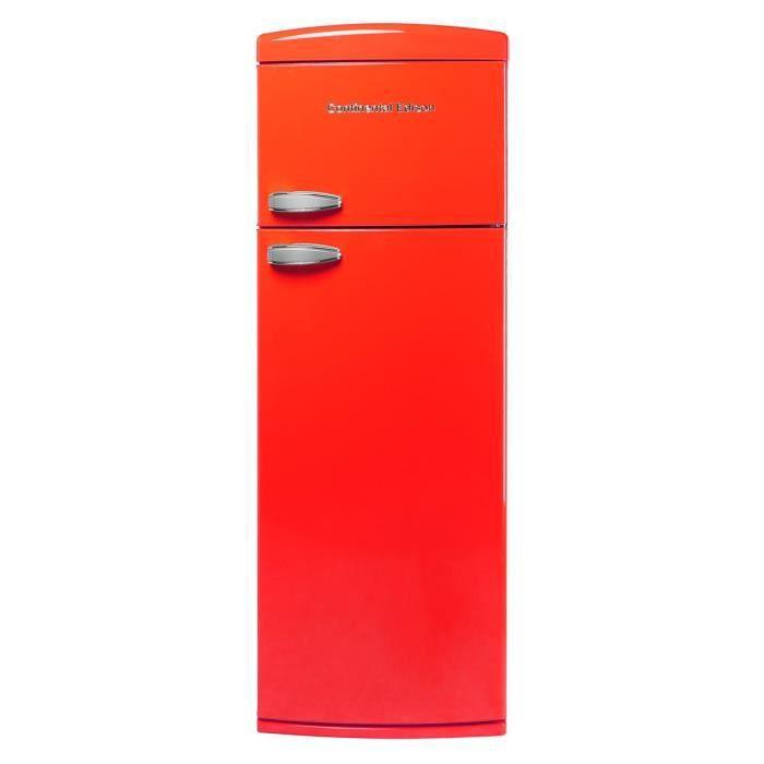 CONTINENTAL EDISON CEF2D304RV - Réfrigérateur congélateur haut - 304L (241+63) - Froid brassé - A+ -