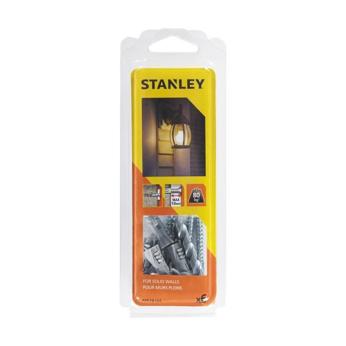 STANLEY Kit murs pleins prêt à installer pour luminaire extérieur STF78104-XJ