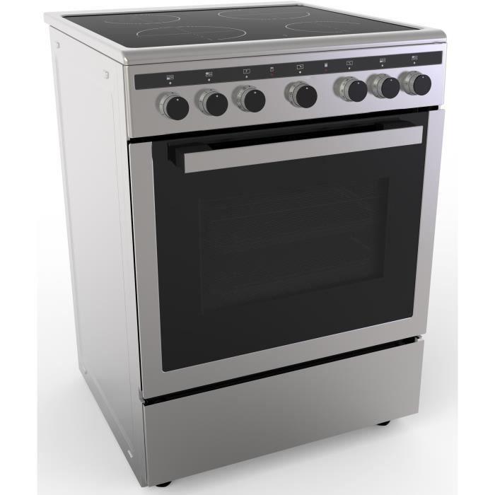 CONTINENTAL EDISON CECICM604ZI Cuisinière table induction-4 zones-Four électrique Catalyse 65 L-A-L