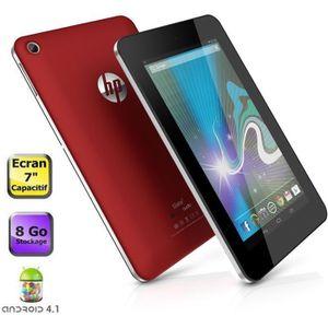 TABLETTE TACTILE Tablette HP Slate 7 Rouge