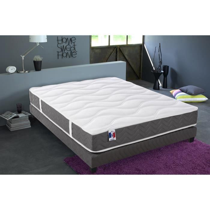 matelas pas cher 2 personnes affordable lit pas cher avec sommier et matelas lit avec sommier. Black Bedroom Furniture Sets. Home Design Ideas
