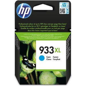 CARTOUCHE IMPRIMANTE HP 933XL Cartouche d'encre Cyan grande capacité au