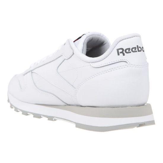 REEBOK Multisport Basket Homme Leather - Multisport REEBOK - Blanc et Beige  Blanc et beige - Achat / Vente basket 7d33c7