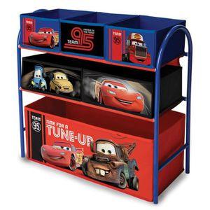 Conception innovante 47878 9c9de DELTA CHILDREN CARS - Meuble de rangement enfant jouets 6 bacs