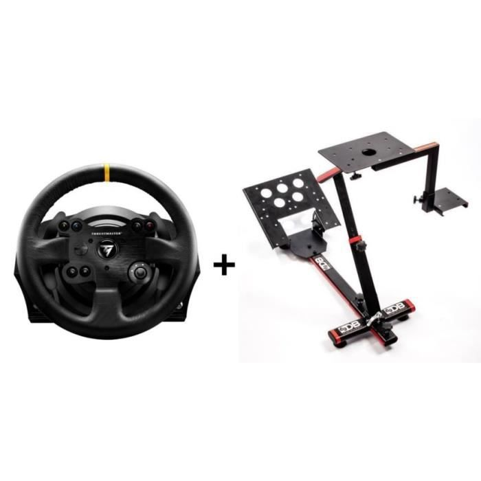 ThrustMaster Volant TX Racing Wheel Leather Edition - PC / Xbox One + 69DB  Support Wheel Stand EVO OFFERT