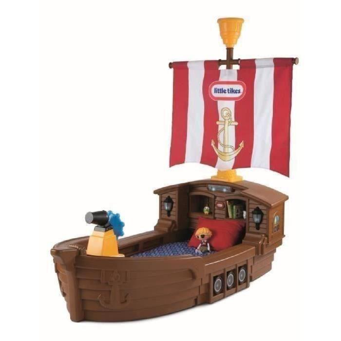 little tikes lit enfant bateau de pirate 177 x 102 x 89 cm matelas inclus achat vente. Black Bedroom Furniture Sets. Home Design Ideas
