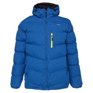 DOUDOUNE DE SPORT TRESPASS Veste doudoune de Ski Blustery Homme Bleu