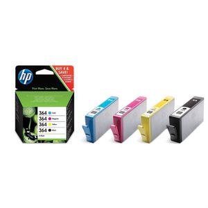 CARTOUCHE IMPRIMANTE HP cartouches 364 B/C/M/Y Pack couleurs