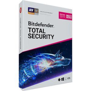 ANTIVIRUS Bitdefender Antivirus Total Security 2019 - valabl