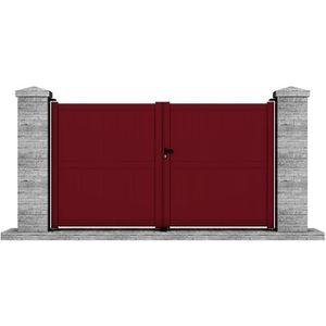 portillon 1m50 achat vente portillon 1m50 pas cher cdiscount. Black Bedroom Furniture Sets. Home Design Ideas