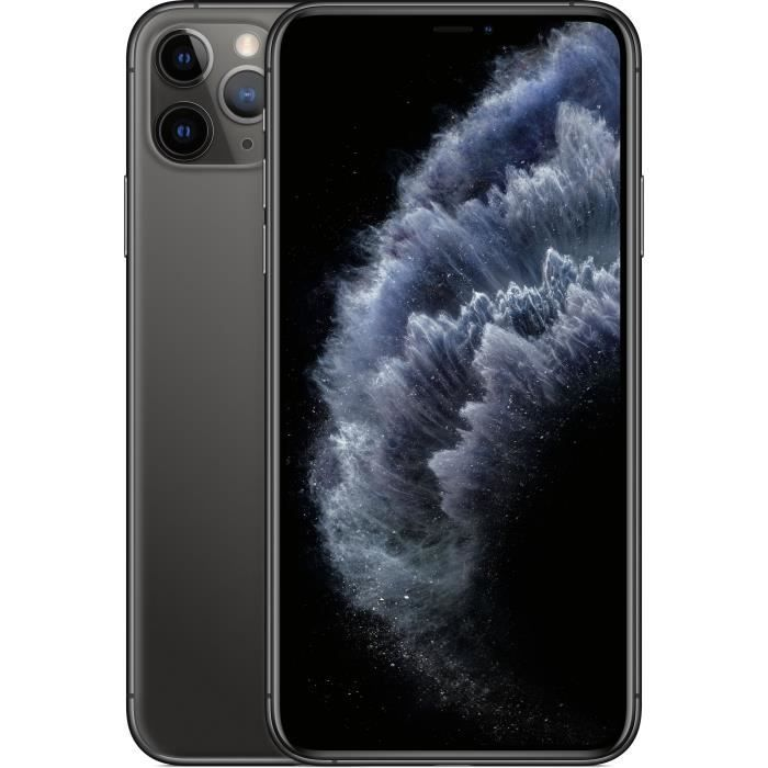 SMARTPHONE APPLE iPhone 11 Pro Max Gris sidéral 64 Go
