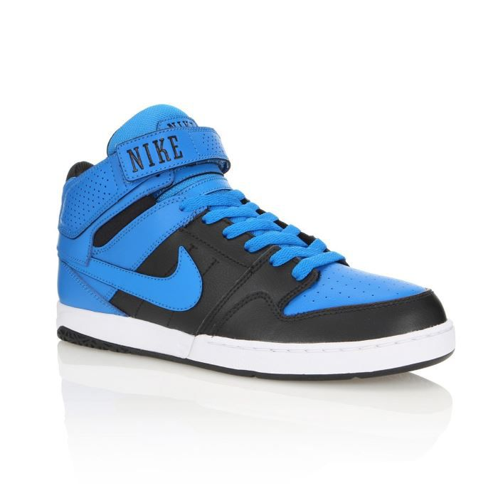 new styles f90e5 75a6d BASKET NIKE Baskets Cuir Zoom Mogan Mid 2 Homme