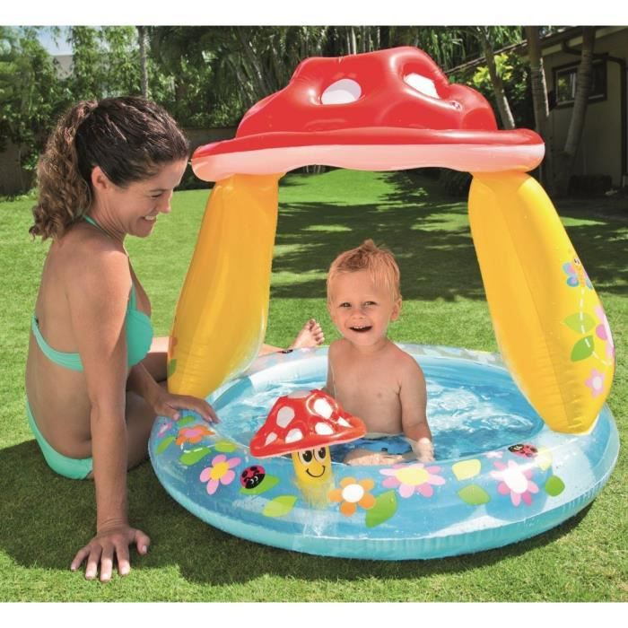 piscine champignon bébé