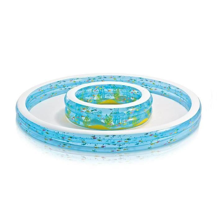piscine gonflable enfant cars aire de jeux aquatique avec toboggan