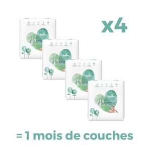 COUCHE PAMPERS Harmonie Taille 1, 2-5 kg, 272 couches - F