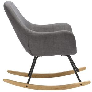 fauteuil rocking chair en bois achat vente fauteuil rocking chair en bois pas cher black. Black Bedroom Furniture Sets. Home Design Ideas
