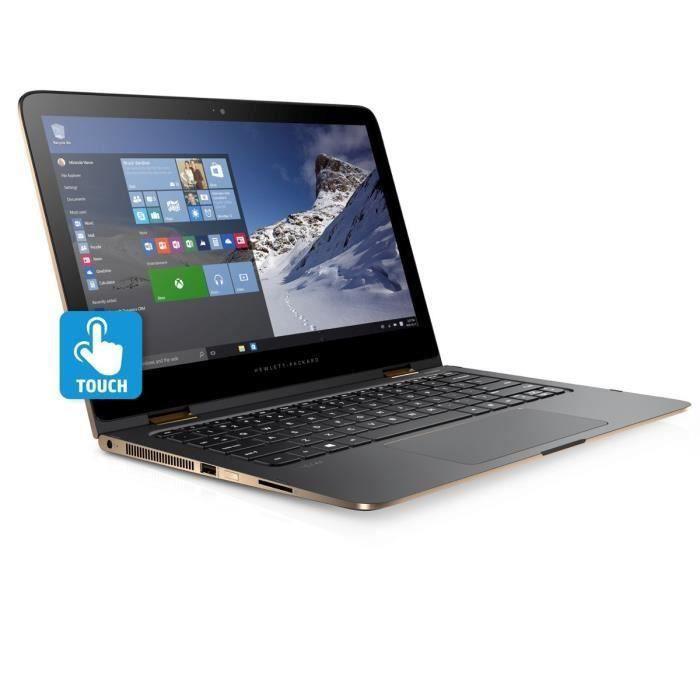 HP PC Portable Spectre x360 13-4173nf- Argent cendré-13
