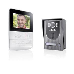 INTERPHONE - VISIOPHONE SOMFY Interphone vidéo 2 fils V100 écran couleur 4