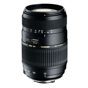 OBJECTIF TAMRON AF 70-300 mm/f4-5.6 DiII LD Macro 1/2 CANON