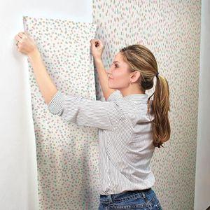 PAPIER PEINT Papier peint adhésif Confettis - 5 x 0,53 mètre