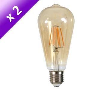 AMPOULE - LED Lot de 2 Ampoules LED E27 5 W équivalent à 40 W bl