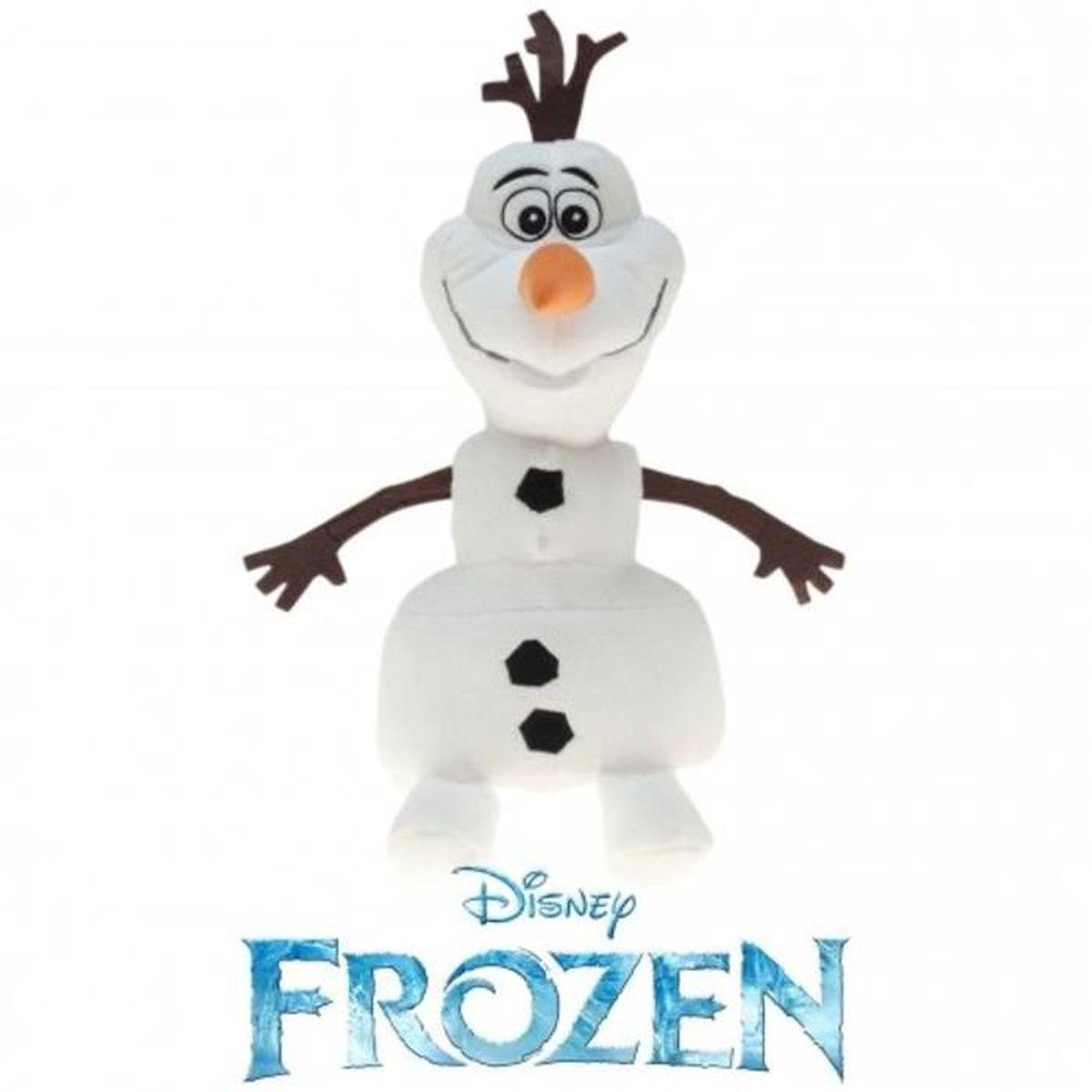 PELUCHE 201800En Peluche Frozen-Olaf Le Bonhomme De Nei