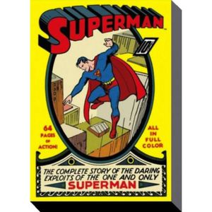 Superman Homme Dacier 100 Coton Parure De Lit Single Housse De