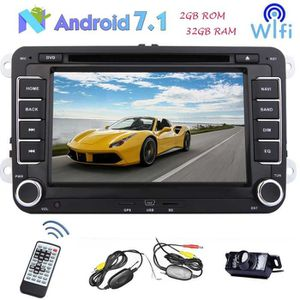 AUTORADIO Double Din 7 pouces Android 7.1 Car Stereo Navigat
