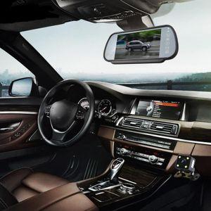 RADAR DE RECUL 7inch LCD écran couleur voiture inverse vue arrièr