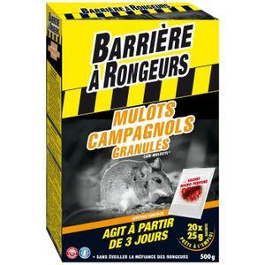 PIÈGE NUISIBLE JARDIN BARRIERE A RONGEURS Mulots Campagnols - Appât gran