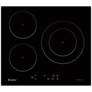 PLAQUE INDUCTION CANDY CI630C/1B - Table de cuisson induction - 3 z