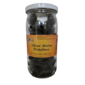 OLIVE Olives Noires Picholines