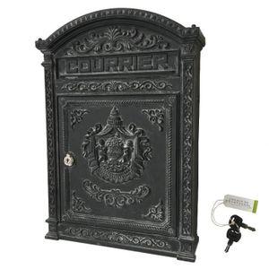 boite aux lettres fonte achat vente pas cher. Black Bedroom Furniture Sets. Home Design Ideas