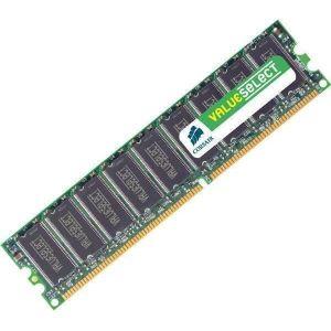 MÉMOIRE RAM Mémoire Value Select 1 Go PC 3200 (VS1GB400C3) -