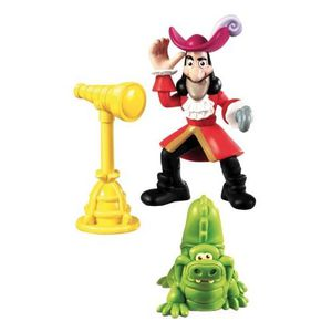 FIGURINE - PERSONNAGE FISHER-PRICE - Friends Pack figurine Hook et Croc