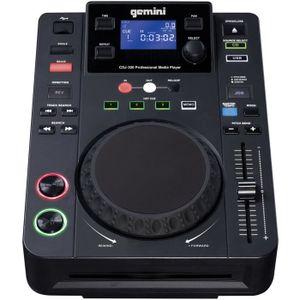 PLATINE DJ GEMINI MDJ-500 E Media Player professionnel - USB
