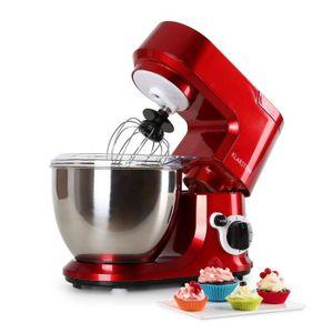 ROBOT MULTIFONCTIONS Klarstein Carina Rossa| Robot de cuisine 800W | ro