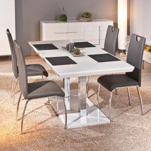 TABLE À MANGER SEULE Table rectangulaire meuble cuisine salon salle ...