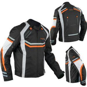 BLOUSON - VESTE Blouson Moto Textile Protections CE Impermeable Tr