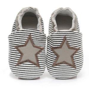 f04e99383ba3f CHAUSSON - PANTOUFLE Chaussons bébé et enfant en cuir souple Chaussures ...