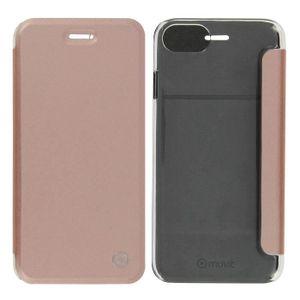 HOUSSE - ÉTUI Etui Clapet Portefeuille Rose gold iPhone 7 et iPh