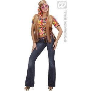 DÉGUISEMENT - PANOPLIE Gilet hippie à franges femme m